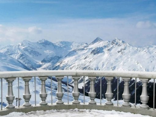 Fototapet med motivet: Berg Scen