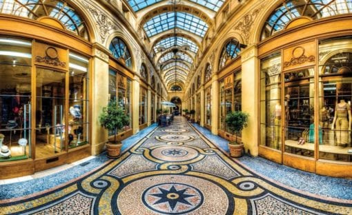 Fototapet med motivet: Milano Shopping Center