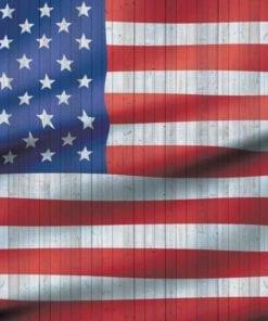 Fototapet med motivet: USA amerikanska Flaggan