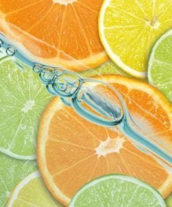 Fototapet med motivet: Mat Frukt Lime Orange Citron