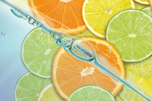 Fototapet med motivet: Mat Frukt Lime Orange Citron