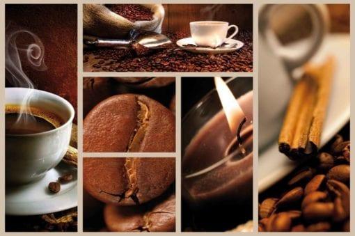 Fototapet med motivet: Kaffe Kaffé