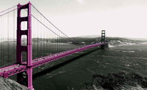 Fototapet med motivet: Golden Gate Bridge