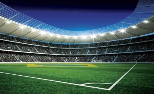 Fototapet med motivet: Fotbollsarena