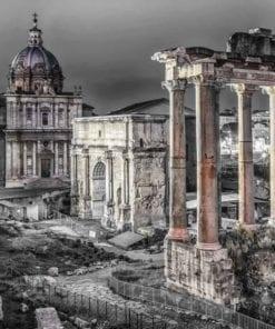 Fototapet med motivet: Forum Romanum Rom