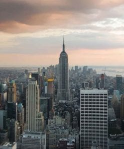 Fototapet med motivet: New York Empire State Building