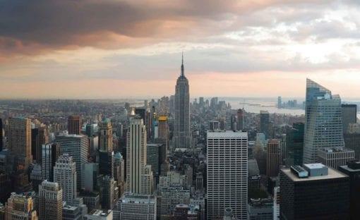 Fototapet med motivet: New York Empire State Building