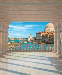 Fototapet med motivet: Venedig Kolumner