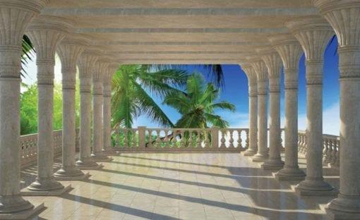 Fototapet med motivet: Tropisk Strand Utsikt