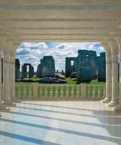 Fototapet med motivet: Stonehenge Utsikt