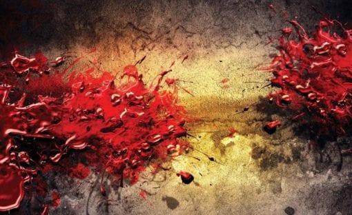 Fototapet med motivet: Color Splash Abstrakt