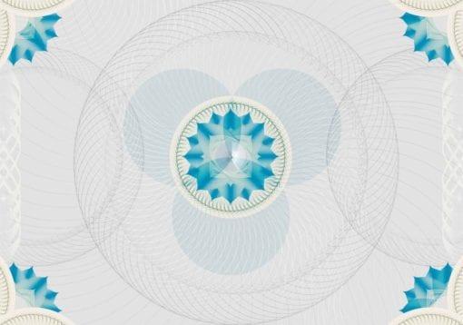 Fototapet med motivet: mönster cirklar
