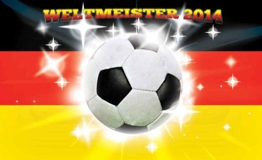 Fototapet med motivet: Tyskland fotboll