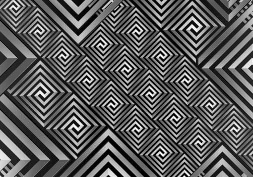 Fototapet med motivet: Modern abstrakt mönster
