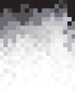 Fototapet med motivet: Abstrakt mönster Svart Vit