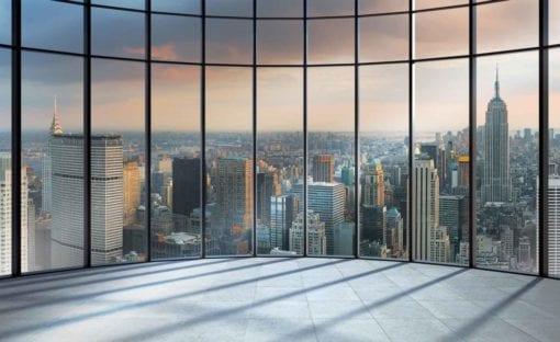 Fototapet med motivet: Utsikt New York City