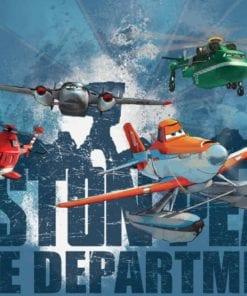 Fototapet med motivet: Disney Flygplan Dusty Blade Windlifter