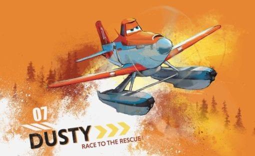 Fototapet med motivet: Disney Flygplan Dusty Crophopper
