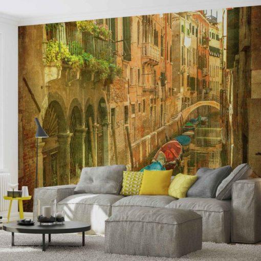 Fototapet med motivet: Stad Venedig Kanal