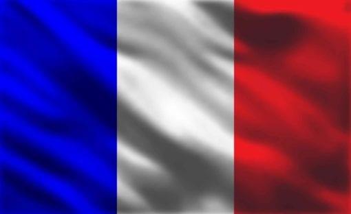 Fototapet med motivet: Flagga Frankrike