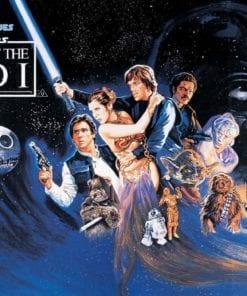 Fototapet med motivet: Star Wars Return of the Jedi