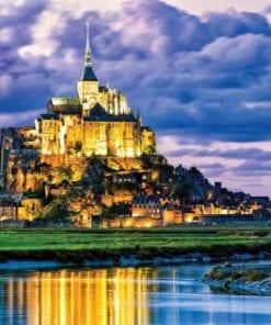 Fototapet med motivet: Frankrike Mont Saint Michel