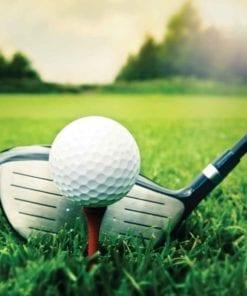 Fototapet med motivet: Golfboll