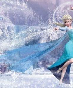 Fototapet med motivet: Disney Frost Elsa