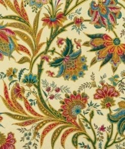 Fototapet med motivet: Blommor Växter Mönster Vintage