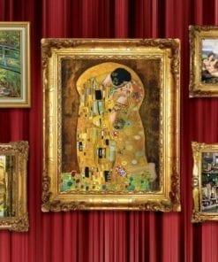 Fototapet med motivet: Målningar Art Lyxigt