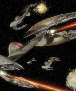 Fototapet med motivet: Star Wars Vulture Droid Starfighters