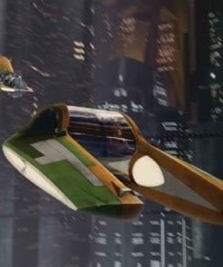 Fototapet med motivet: Star Wars Jedi Chase Wesell