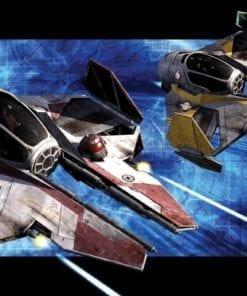 Fototapet med motivet: Star Wars Obi Anakin Jedi Starfighters