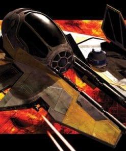 Fototapet med motivet: Star Wars Anakin Jedi Starfighter