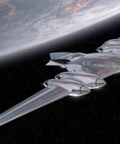 Fototapet med motivet: Stjärn Wars J-typ Matic pråm