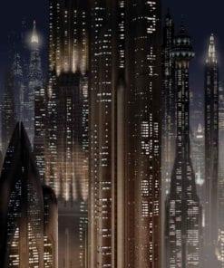 Fototapet med motivet: Star Wars Stad