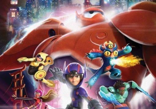 Fototapet med motivet: Disney Big Hero 6