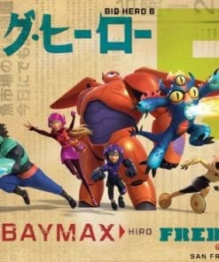 Fototapet med motivet: Disney Big Hero 6