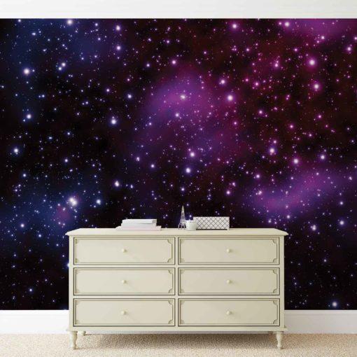 Fototapet med motivet: Stjärnor Kosmos Universe