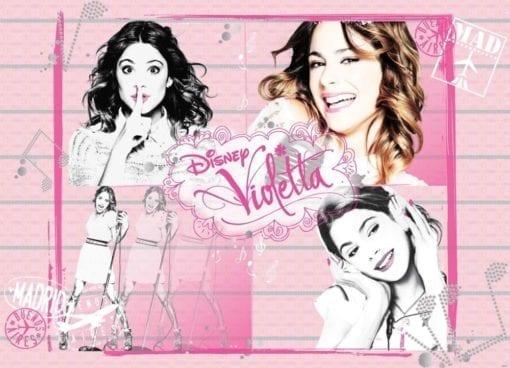 Fototapet med motivet: Disney Violetta