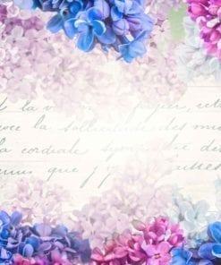 Fototapet med motivet: Blommor Vintage