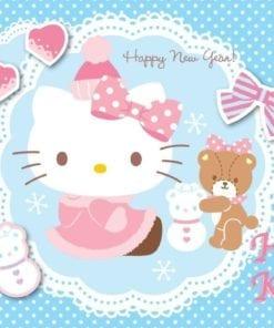 Fototapet med motivet: Hello Kitty