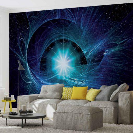 Fototapet med motivet: Cosmic Star Abstrakt