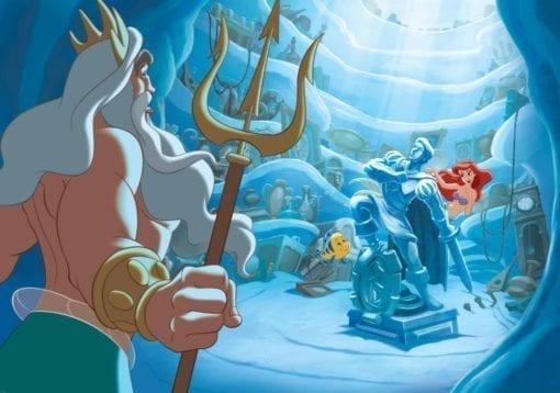 Fototapet med motivet: Disney Lilla Sjöljungfrun