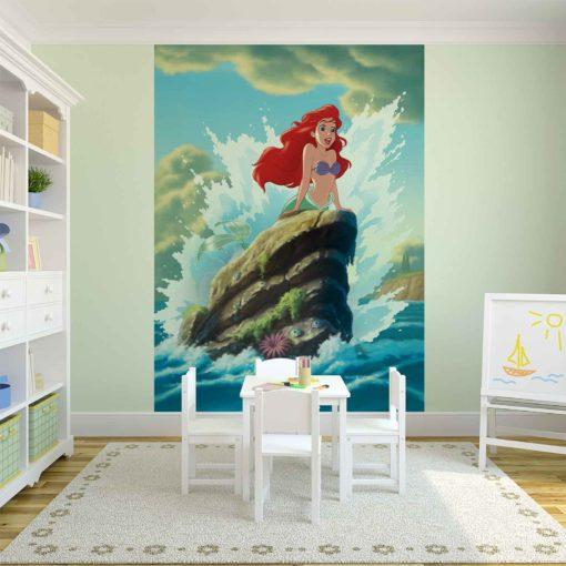 Fototapet med motivet: Disney Lilla Sjöljungfrun Ariel