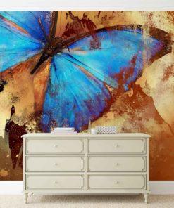 Fototapet med motivet: fjärilskonst
