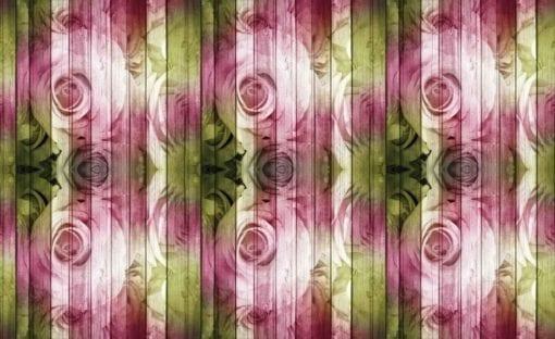 Fototapet med motivet: Blommor Rosor Abstrakt