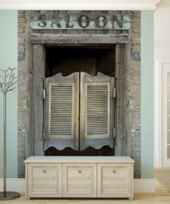 Fototapet med motivet: Western Saloon Bar Doors