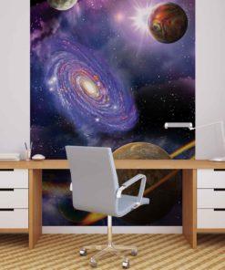 Fototapet med motivet: universe Planeter