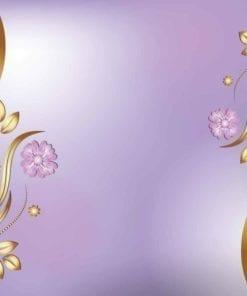 Fototapet med motivet: Blommor Abstrakt Rosa